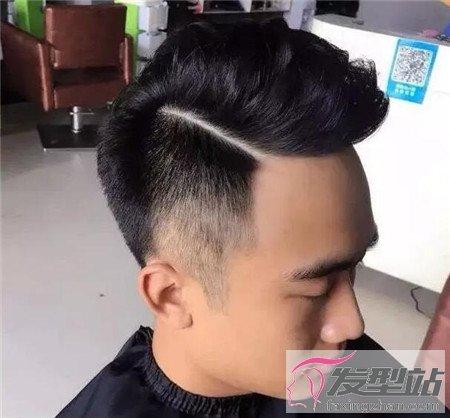 一道杠发型