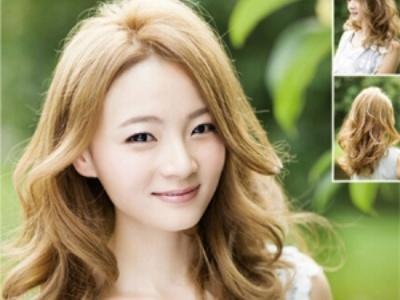 女生烫什么样的发型显气质 大卷烫发给你不一样的魅力图片图片