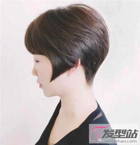 小子头发后边剃项目假女生短发女生超帅中性spa哪些发型有