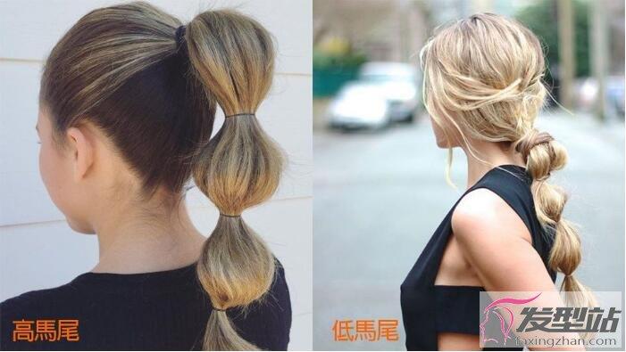 糖葫芦马尾的扎法图解 5步骤打造少女感十足俏丽发型图片