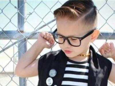 2019短发男童帅气发型 小男孩油头发型时髦度爆表图片