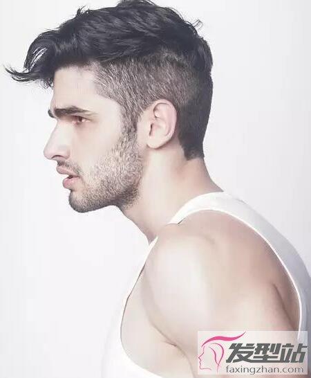 发型卷发头型原来女孩卷发也帅男人活泼男生