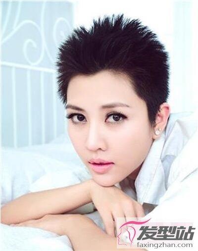 超帅发型背景寸头这款女生最v发型女生颜值图女生in发型图片