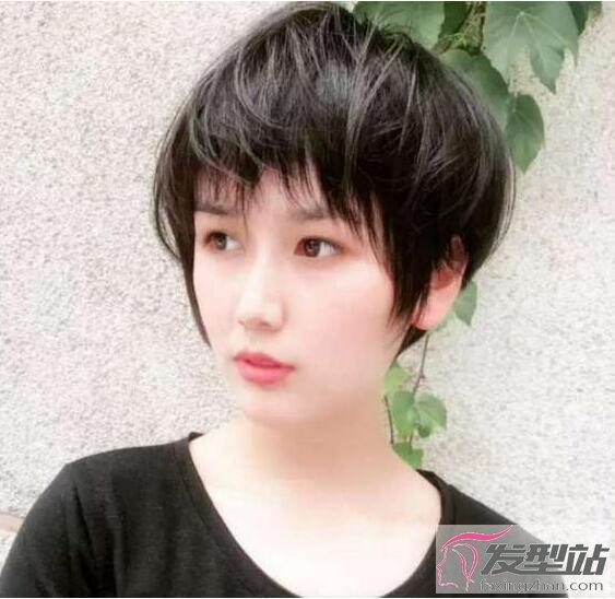 不烫不染短发短发自然原来发型还美短发适合我图片