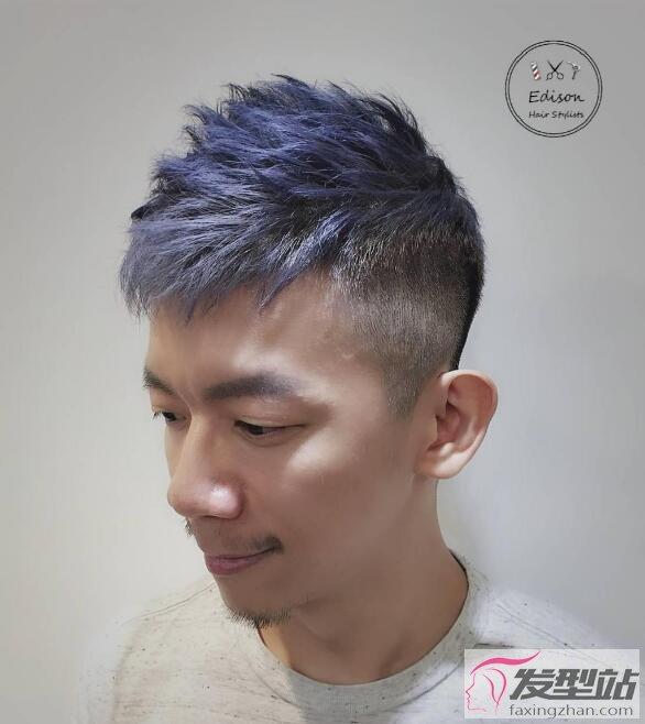 2019年男士流行发型染发 型男必染质感发色13选图片