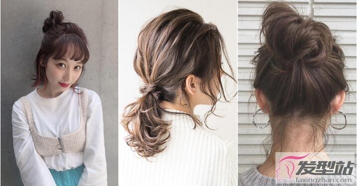 发型简单编发发夹扎法运用发型可爱度秒增10留鼻子短发大太什么图片
