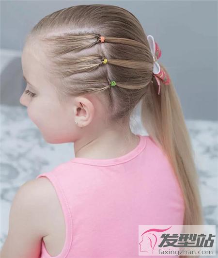 唯美小女孩百变编发 萝莉公主可爱发型-儿童发型-发_.