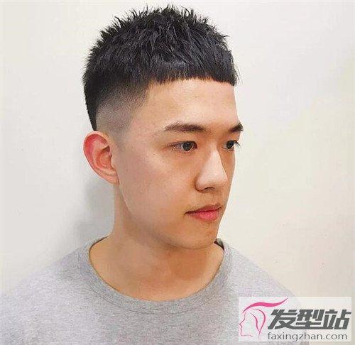 热门型男发型示范 梨泰院同款栗子头-男士短发-发型站