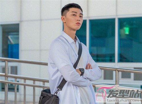 发型站 男生发型 男士短发    梨泰院这部韩剧,可以说超带货的.