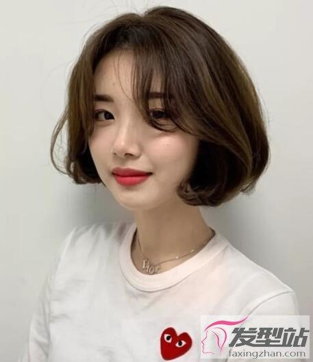 韩式女生短发发型 温柔浪漫打造小脸女神