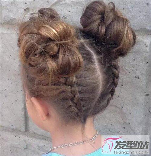12款漂亮小女孩编发 打造百变公主萝莉-儿童发型-发型