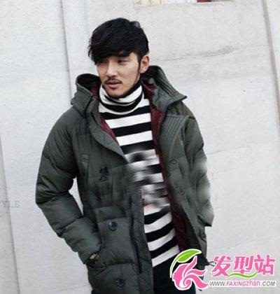 冬季韩版男生发型引领潮流时尚
