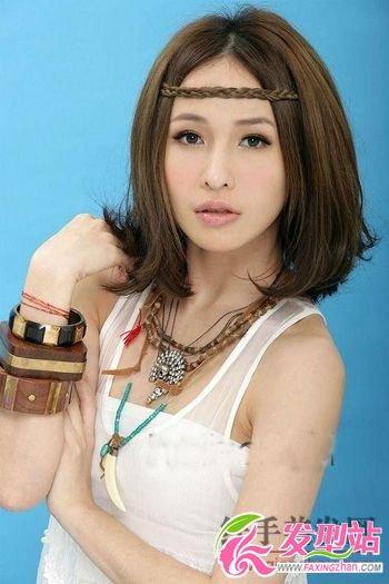 港台女明星中长发型秀-发型图片-发型站_最新流行发型设计发型图片与