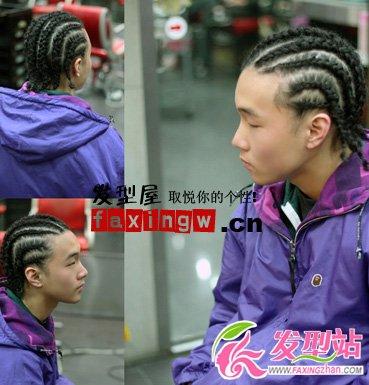2012年最新韩式男生发型-韩式男发-发型站
