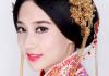 【中式新娘发型】中式新娘盘发_中式新娘妆发型设计 (390x486)图片