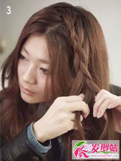 长头发怎样编头发才好看 最美半扎公主头编发图片