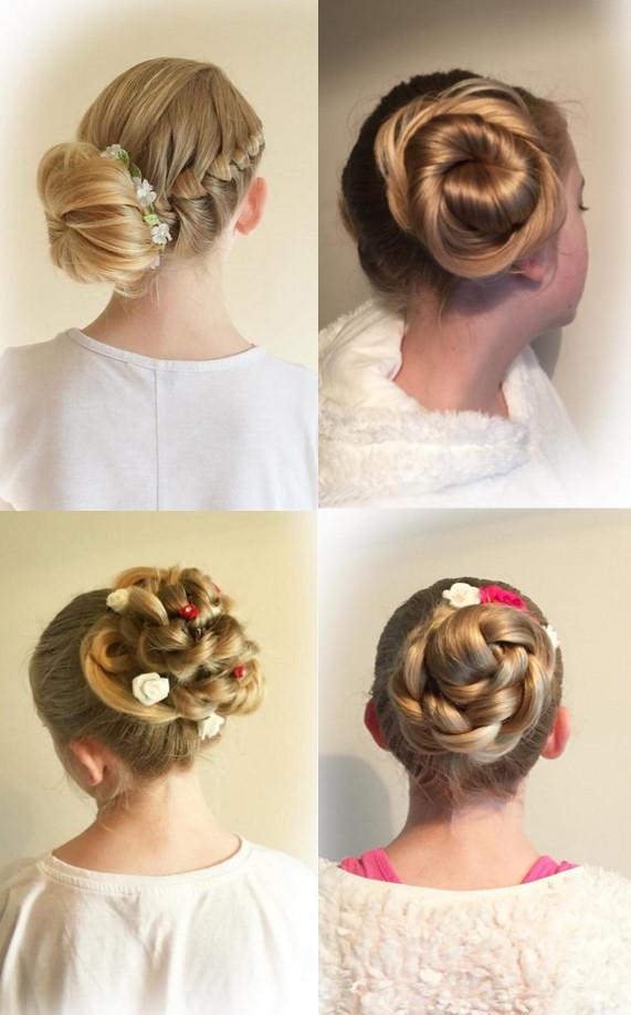 小女孩跳舞盘发的步骤_儿童节小女生盘发编发 女孩子舞蹈盘发发型图片-儿童发型-发型 ...