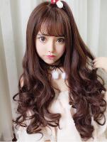 长发烫发怎么烫好看 时尚棕黄长发烫发发型