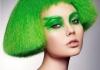 【绿色染发】绿头发染发效果图_绿色染发图片_绿头发图片