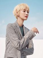 高俊熙亚麻金色短发 韩国女生最美短发发型图片