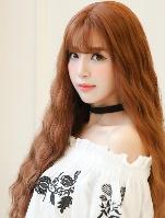 韩式蛋卷头长发图片 时尚个性女生烫发设计