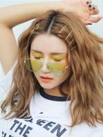亚麻色白金色染发发型 韩式流行染发大全