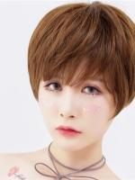 露耳短发波波头 个性女生短发发型