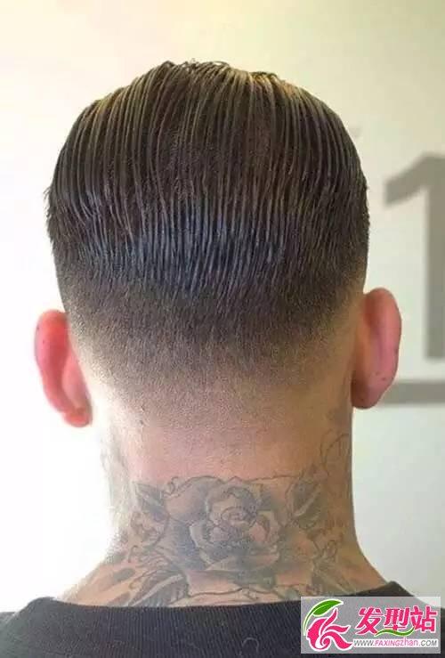 潮男发型造型图片 大背头潮油头undercut样样经典图片