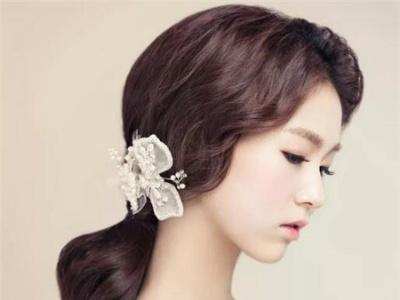 韩式婚纱照新娘发型 2018新款韩式新娘设计图片