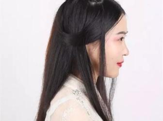 古装发型简单扎发视频 古装发型扎法视频