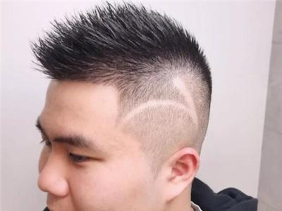 脸比较圆的男生适合什么发型图片