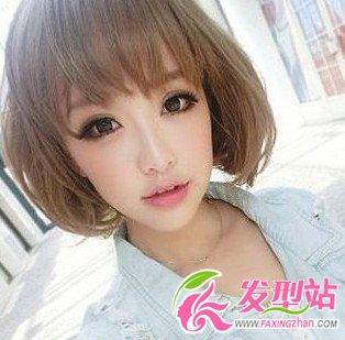 现在学生流行的发型_2012流行女生短发发型-短发发型-发型站_最新流行发型设计发型 ...