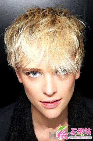 2013女生流行短发_欧美女生最新短发发型-短发发型-发型站_最新流行发型设计发型 ...