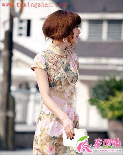 旗袍装搭配什么发型最好看 优雅时尚旗袍发型图片