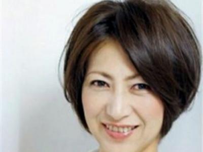 中年妇女流行短发发型