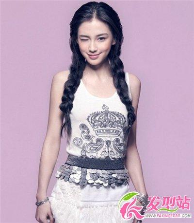 杨颖angelababy百变发型盘点 杨颖最新时尚发型图片