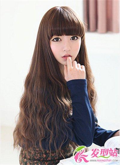 女生不等式短头发怎么打理_长发女生最浪漫烫发发型图片 时尚甜美卷发气质翻倍-长发发型 ...