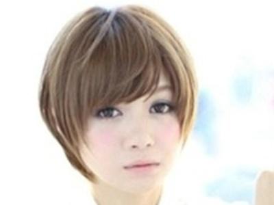 层次感碎发发型 修颜必备发型