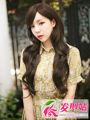 韩式约会发型 打造甜美约会