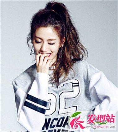 韩星Nana林珍娜时尚发型盘点 甜美发型打造女神气质