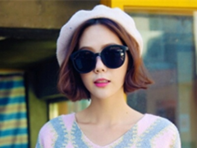 齐肩中短发怎么打理好看 韩式外翻发尾设计最时尚
