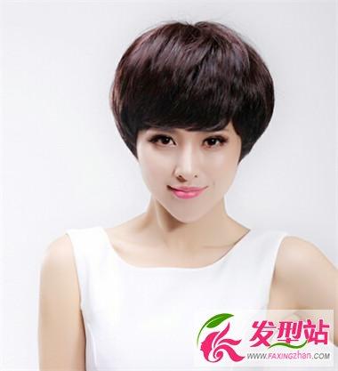魅力短发女生造型 简单短发塑造美丽俏佳人