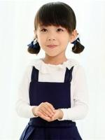 小女孩可爱马尾扎发发型 俏丽活泼最显童真