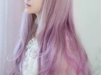 最新挑染渐变色染发 五彩缤纷的时尚发型