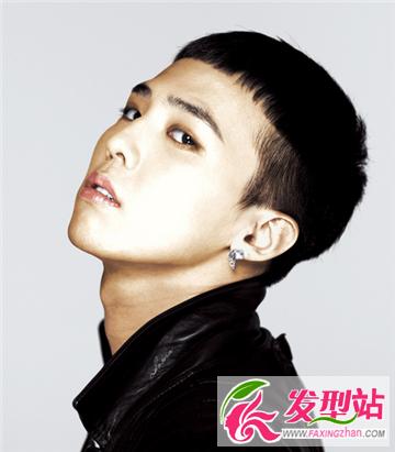 BIGBANG队长G-Dragon权志龙的最新发型造型 帅气韩国大牌范迷人的时尚