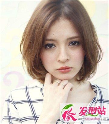 胖圆脸女生适合的短发发型 最是修饰脸型提升
