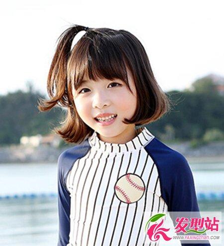 儿童发型扎法 幼儿园小孩发型_发型设计