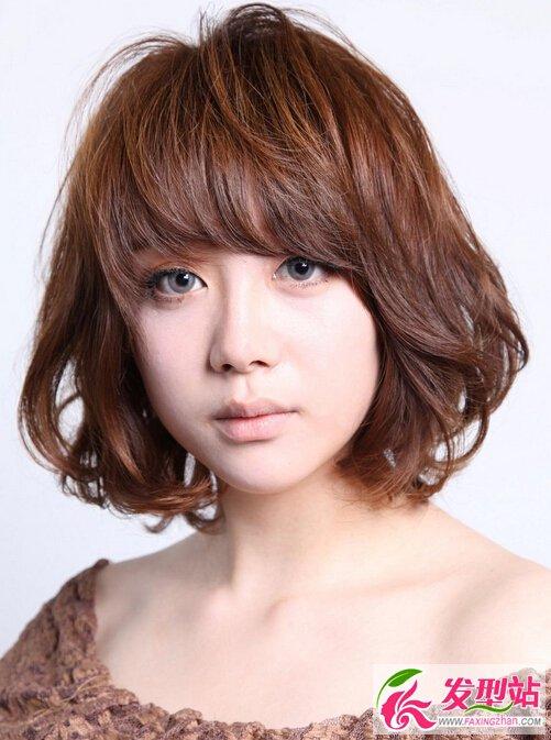 女生短发卷发发型大全-2016年短发发型抢先看 最新设计师短发造型合