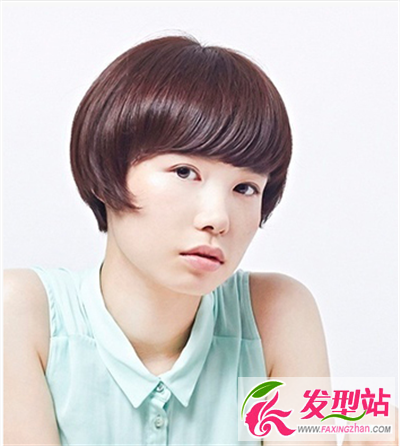 干练短发发型