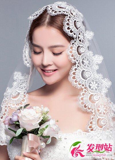 2016韩式新娘发型图片